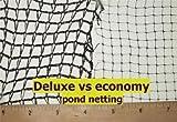 Green Vista Deluxe Knitted Pond Net / Netting