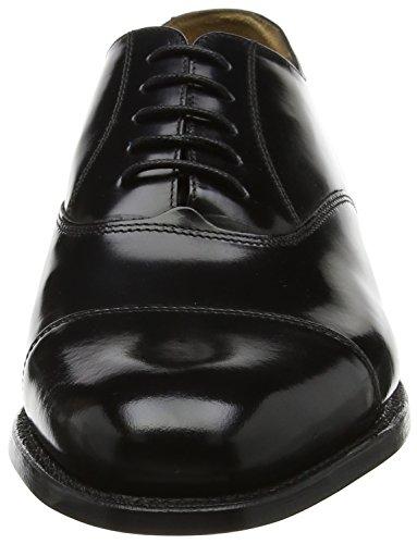 BARKER Stringate Uomo Arnold Nero 37 Scarpe shine Black Hi Oxford r7ErFq