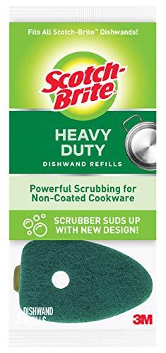 Scotch-Brite Heavy Duty Dishwand Refill, 3-Refills/Pk, 6-Packs (18 Refills Total) by Scotch-Brite (Image #2)