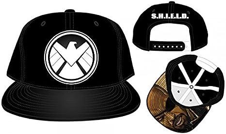 Nuevo Marvel Shield Logo PU Gorra Gorro talla única adultos Sz ...