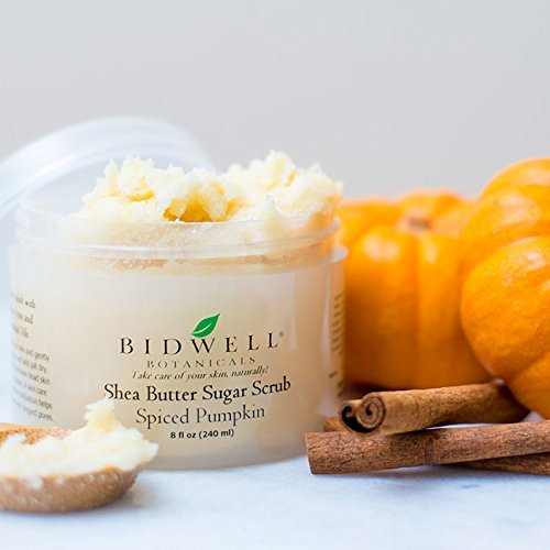 Spiced Pumpkin Shea Butter Sugar Scrub by Bidwell Botanicals LLC