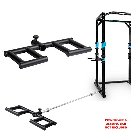 TNP Accessories Viking Shoulder Press T Bar Row Handle Landmine Gym Attachment Grappler Olympic Barbell Bars