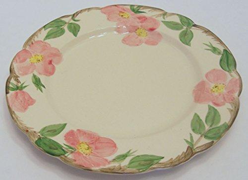 Franciscan Ware Desert Rose Dinner Plate Backstamp USA 10.5