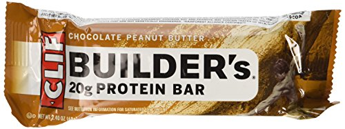 Clif Bar Builder's Protein Bars, Chocolate Peanut Butter, 12 ()