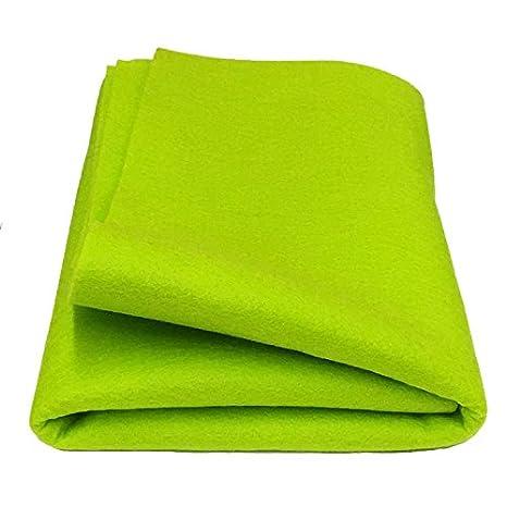 """100% Merino Wool Craft Felt - 8"""" x 12"""" sheet - LIME Weir Crafts 457-lime"""
