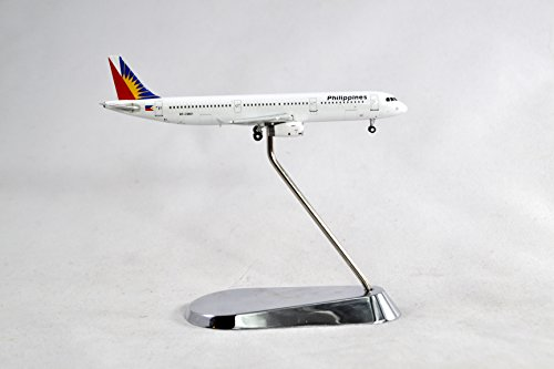 Geminijets Philippine Airlines Airbus A321 200 Diecast Airplane Model Rp C9901 With Stand 1 400 Scale Part  Gjpal1343