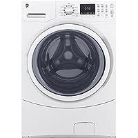 GE GFW430SSMWW 4.5 cu. ft. Stackable Front Load Washing Machine (White)