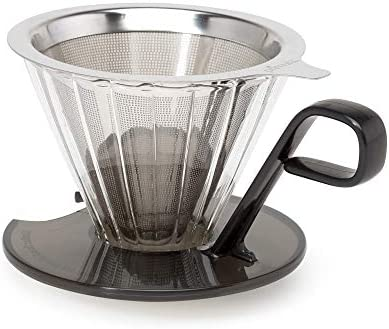 Primula PPOCD-6701 1-Cup Stainless Steel Pour Over Coffee Maker
