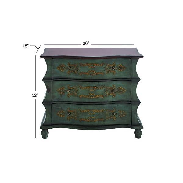 "Deco 79 92377 Wood Dresser, 36"" x 32"""