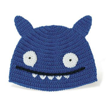 (Uglydoll Ice-Bat Blue Hat)