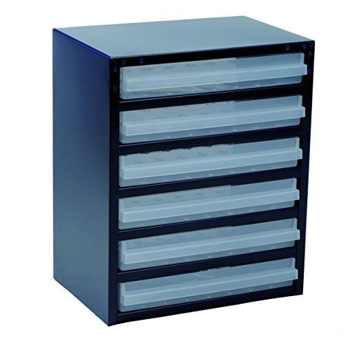 raaco Stahlmagazin 250/6-3, blau, 137591