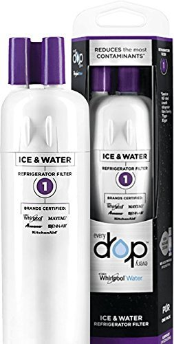 EveryDrop by Whirlpool Refrigerator Water Filter 1 (Pack of 2)