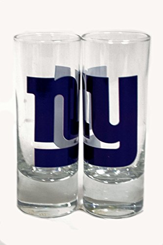 New York Giants Shot Glass (NFL Officially Licensed 2 Oz Cordial Shot Glass (New York Giants))