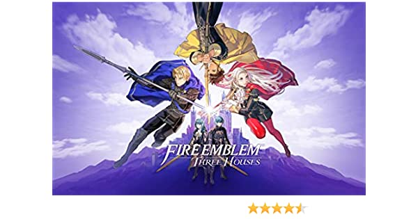Official Box Art High Quality Prints Fire Emblem Three Houses Poster