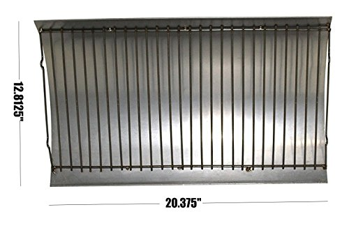 Cookingstar Aluminized Ash Pan with Steel Wire Grate(12.8125 x 20.375 inches)