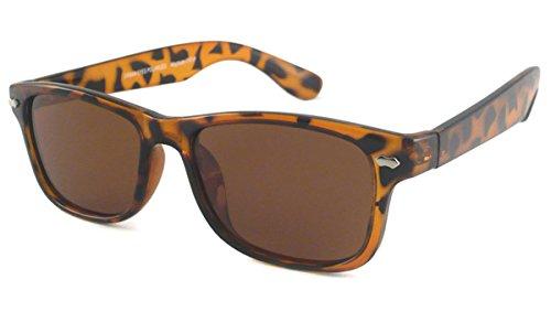 UrbanSpecs Sunglasses - Classics - Wayfarer - Polarized / Frame: Tortoise Lens: Brown - Urbanspecs Sunglasses