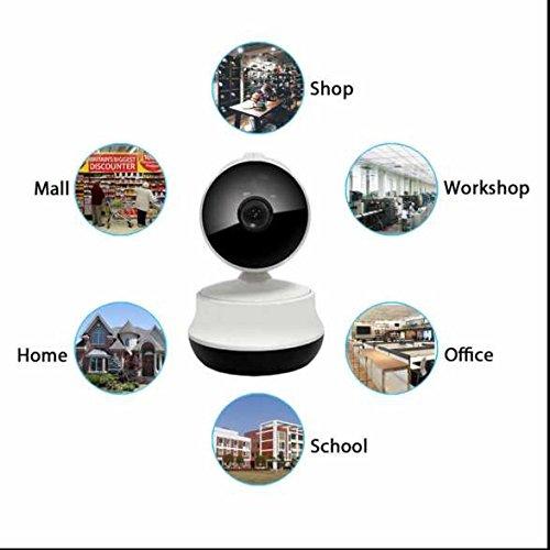 Home ip kamera Baby Monitor Zwei Wege Video,drahtlos Alarmanlagen,P2P Überwachungstechnik,eingebaute Infrarotbeleuchtung,PIR Nachtsichtmodus,Zoom und Fokus