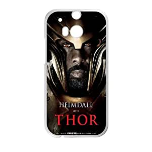 Heimdall Thor Movie0 HTC One M8 Cell Phone Case White Customized Toy pxf005_9689575