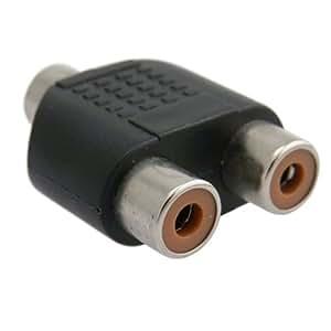eForCity TOTHRCAAD003 HDE RCA Audio Video Splitter Adapter