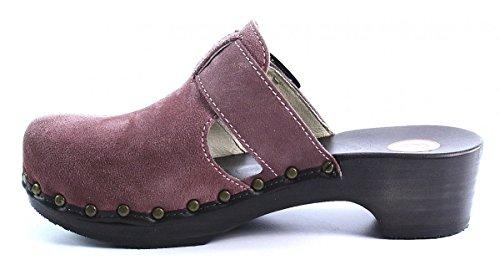Berkemann City-Toeffler, Women's Clogs Purple