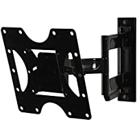 Peerless Full-Motion Plus Wall Mount 22 - 40 Inches LCD, Black