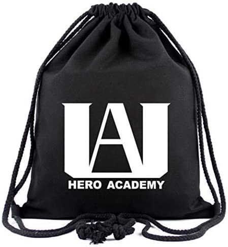 My Hero Academia 1 bolsa con cord/ón, 12 hojas de pegatinas, 2 chapas, 1 anillo para tel/éfono m/óvil, 1 llavero Set de regalo