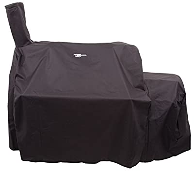 Oklahoma Joe's Offset Smoker Cover, Black from Char Broil