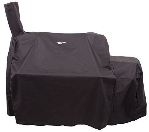 Oklahoma Joe's Highland Offset Smoker Cover, Black