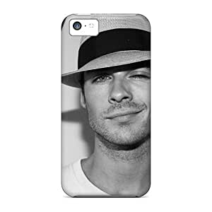 Iphone High Quality Tpu Cases/ Ian Somerhalder Ian Somerhalder The Vampire Diaries AEG6217kCll Cases Covers For Iphone 5c
