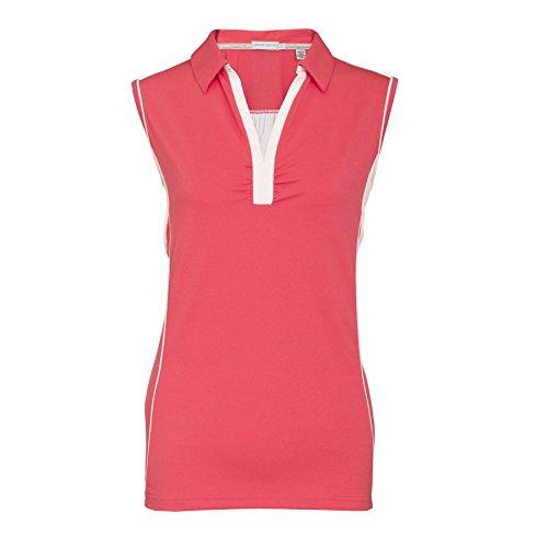 Green Lamb - Camisa deportiva - para mujer Hibiscus/White