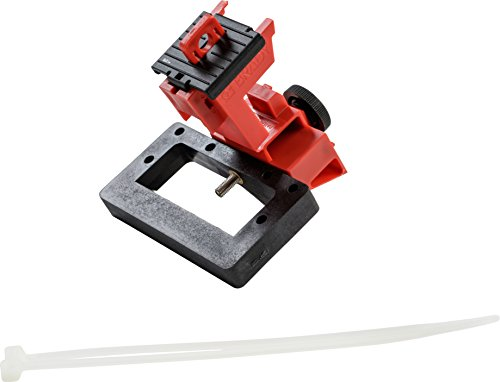 Brady TAGLOCK Circuit Breaker Lockout Devices - 480/600 Volt Clamp-On Oversized Breaker Lockout Device, No Lock Needed - Red - 148691 (Pack of 6) by Brady (Image #1)