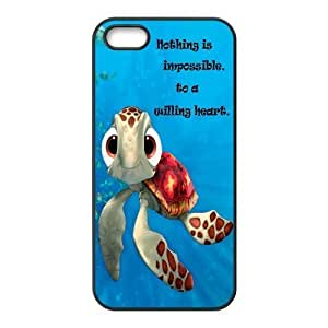 Cartoon Sea Turtle Squirt Snap-on Rubber Coated Case Compatible with Apple iphone 6 plus Covers