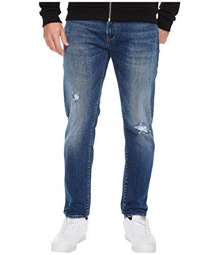 Mavi Jeans  Men's Jake Mid Ripped in Blue Blue 30W x 32L