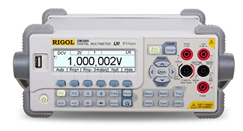 (Rigol DM3068 6 1/2 Digit Benchtop Digital Multimeter)