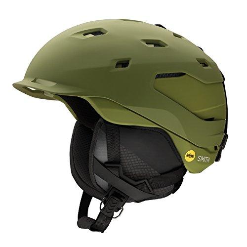 Smith Optics Quantum Adult Mips Ski Snowmobile Helmet - Matte Olive / Large (Helmet Mens Quantum)