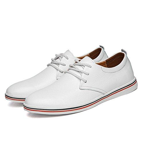 39 Sneaker 5 LHEU EU Minitoo White Uomo Bianco LH918 wTROWqUx1