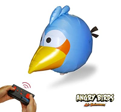 Angry Birds Air Swimmers Turbo - Remote Control Flying Balloon Toy - Blue Angry Bird from William Mark