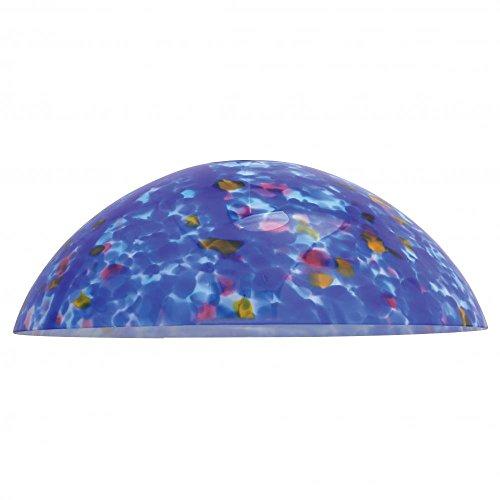 Access Lighting 965RJ-RED Fire Bowl Glass Shade Hanging Mini