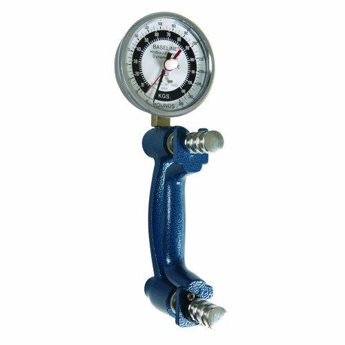 Jamar Hydraulic Hand Dynamometer - Baseline 12-0246 Hi-Res Hydraulic Hand Dynamometer, Large Head, 300 lbs Capacity