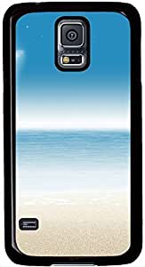 Beach Samsung Galaxy S5 Case Pattern Protective Case for Black Cover Skin -comfort Samsung Galaxy