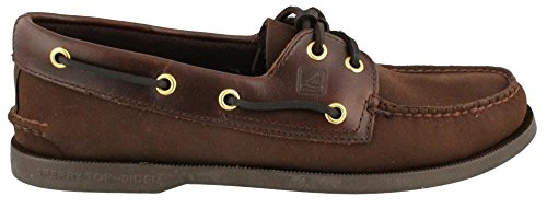 Men's Sperry Topsider, Authentic Original Boat Shoe BROWN SUEDE 10 S by Sperry Top-Sider