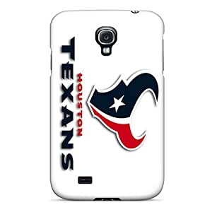 InesWeldon Samsung Galaxy S4 Scratch Resistant Hard Cell-phone Case Support Personal Customs High-definition Houston Texans Image [qUL2413vKhd]