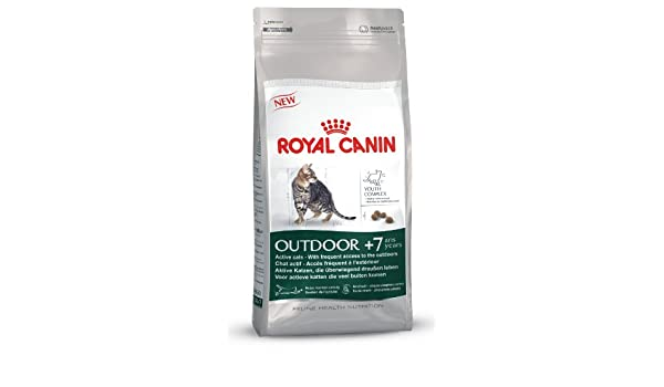 Royal Canin Comida para gatos Outdoor +7 400gr: Amazon.es: Productos para mascotas