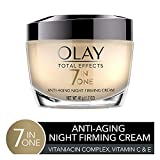 Product review for Olay Total Effects Anti-Aging Night Firming Cream & Face Moisturizer, 1.7 Fluid Ounce