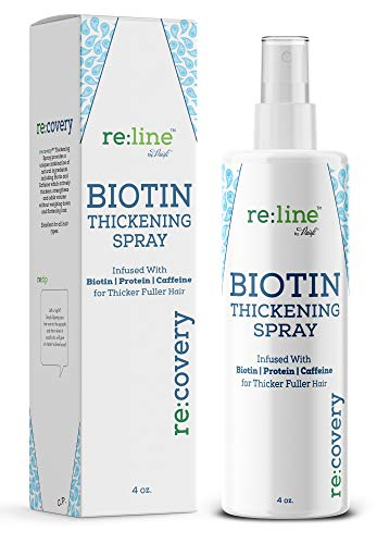 Biotin Hair Thickening Spray for Thin Hair Texturizing Spray Hair Loss Prevention Thinning Hair Thickening Tonic for Fine Hair Thick Hair Growth Products for Men for Women 1