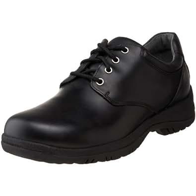 Dansko Men's Walker Oxford,Black,41 EU (7.5-8 M US)