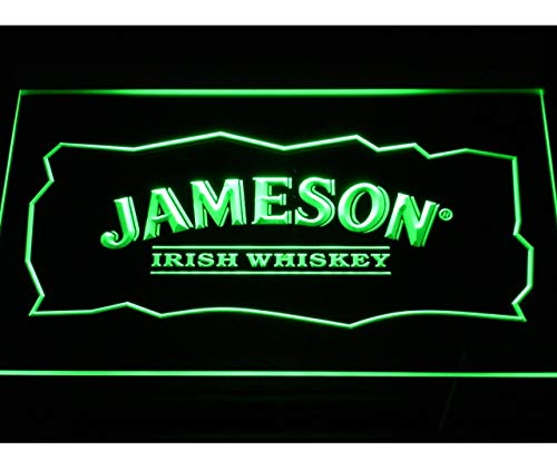 2 Sizes Available ideal for bar Man Cave Jamesons Irish Whiskey METAL SIGN