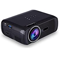 Eoncore LED Portable Mini Projector 1200 Lumens Home Cinema Theater with VGA USB SD AV HDMI for PC Laptop TV Box Video Games