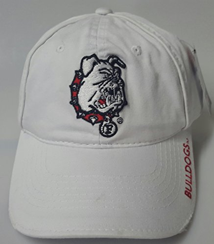 New Ferri State Bulldogs White Buckle Hat by NCAA