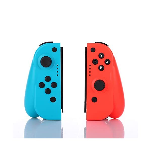 Wireless Joy Con Controller for Ninteodo Switch, CuleedTec Joy Pad Controllers (L/R) with Gyro and Gravity for Switch as… 1